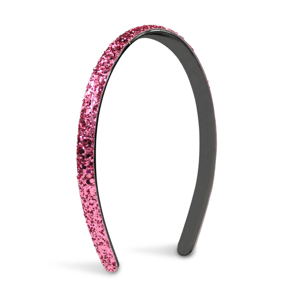Milk x Soda Sparkle Thin Headband - Pink