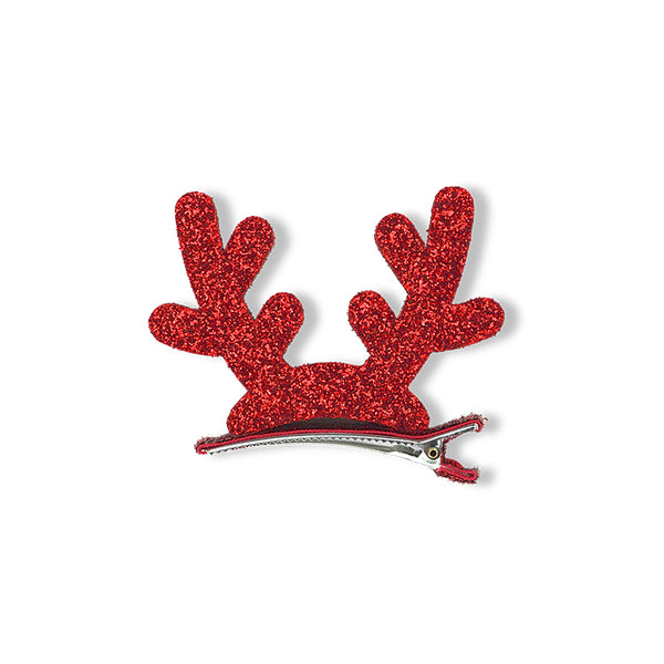Minista Reindeer Hair Clip Red