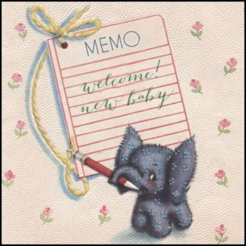 Collectables Welcome New Baby Card