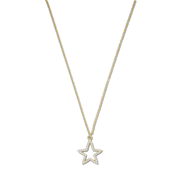 Milk x Soda Sailor Star Necklace - Pearl