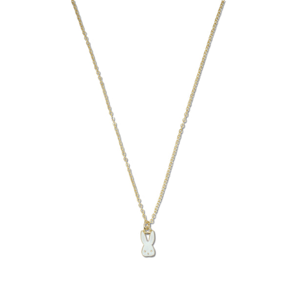Milk x Soda Bubbles the Bunny Necklace - White