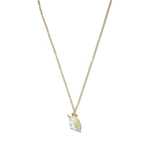 Milk x Soda Magical Unicorn Necklace - Pastel