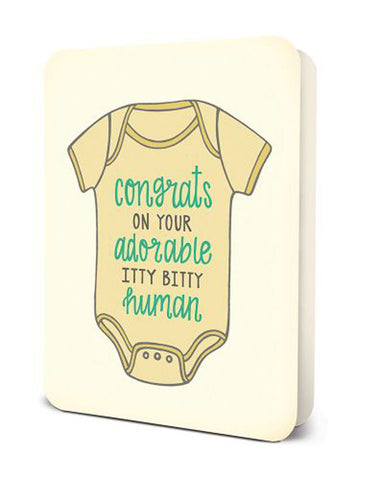Studio Oh Itty Bitty Human Baby Card