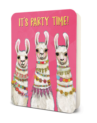 Studio Oh Deluxe Cards Party Time Llamas