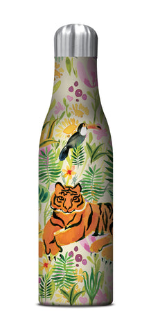 Studio Oh Drink Bottle Tiger Jungle