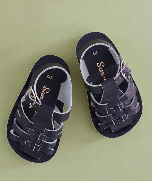 Salt Water Sun Sailor Sandal - Navy