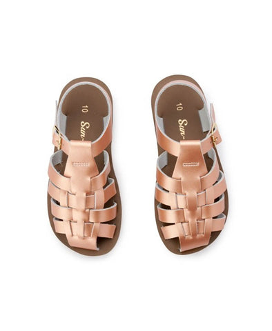 Salt Water Sun Sailor Sandal - Rose Gold