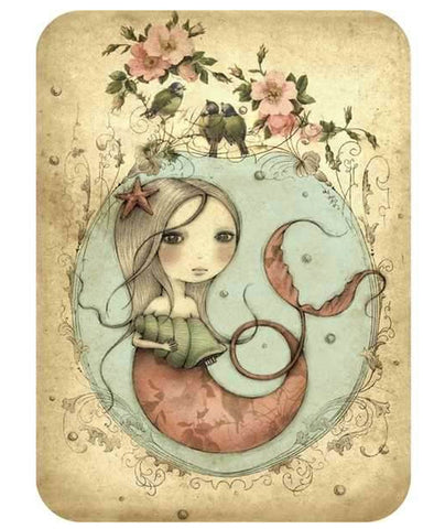 Santoro Mermaid Card
