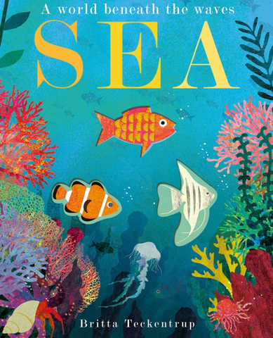 Sea by Britta Teckentrup Board Book