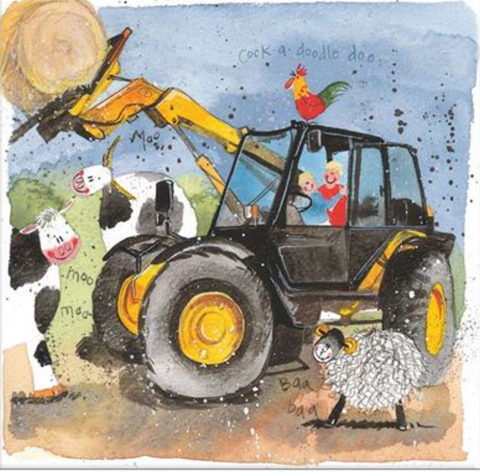 Alex Clark Art Farmyard Fun Card