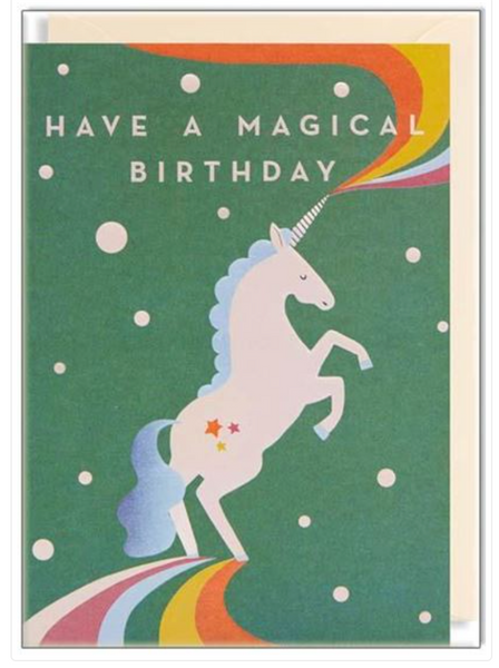 Naomi Wilkinson Have a Magical Birthday Card