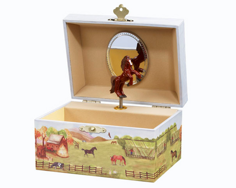 Enchantmints Country Horse Music / Jewellery Box