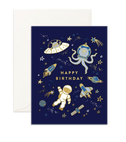 Fox & Fallow Birthday Space Foil