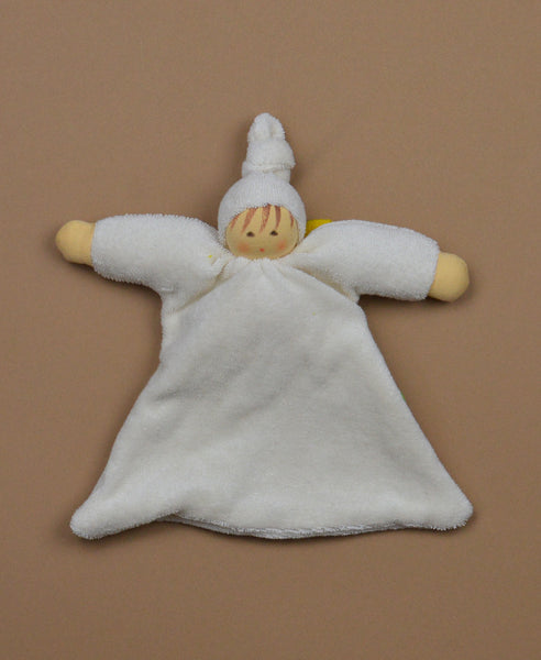 Nanchen Guardian Angel: Organic Cotton with Wool Filling.