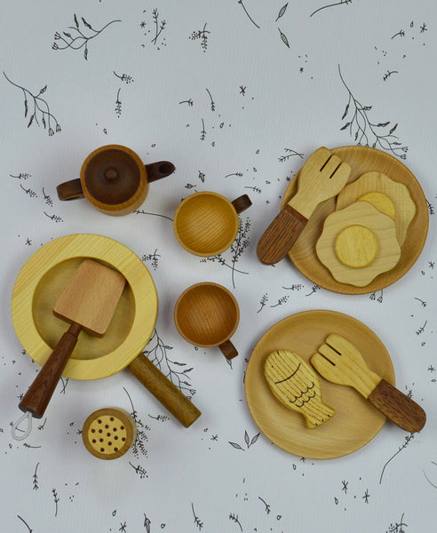 Soopsori Wooden Chef Set