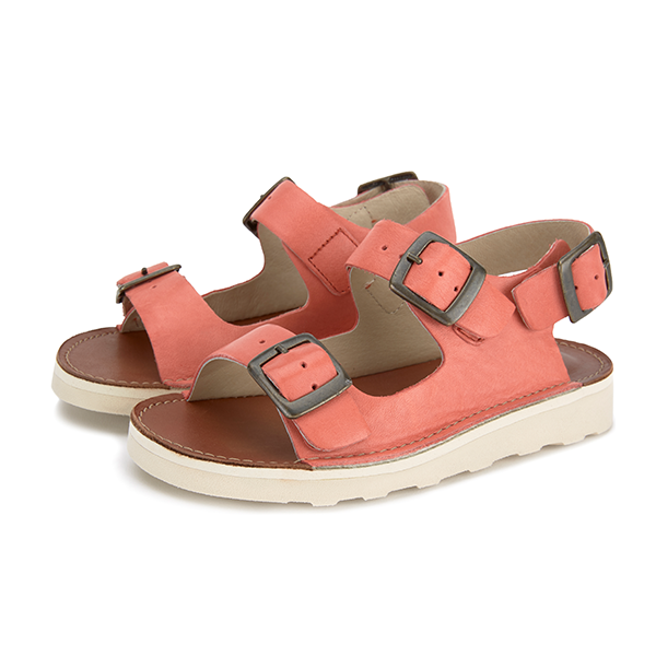 Young Soles Spike Sandal Coral