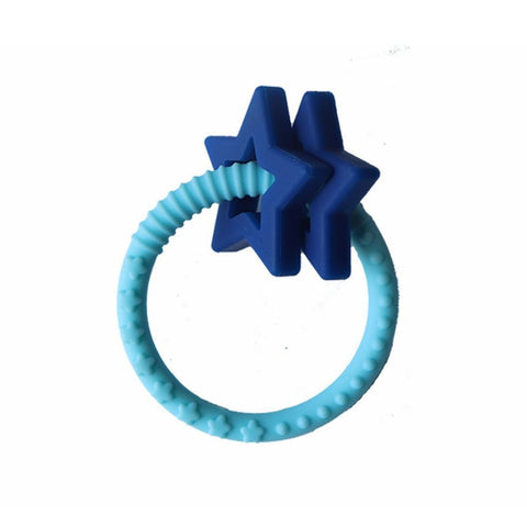 Jellystone Silicone Star Teether Saphire