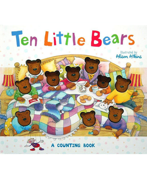 Ten Little Bears Book