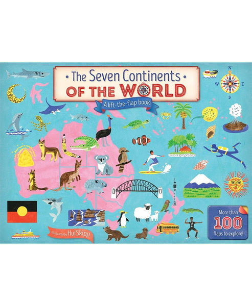 The Seven Continents of the World Flap Book