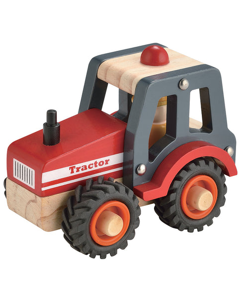 Toyslink Wooden Red Tractor