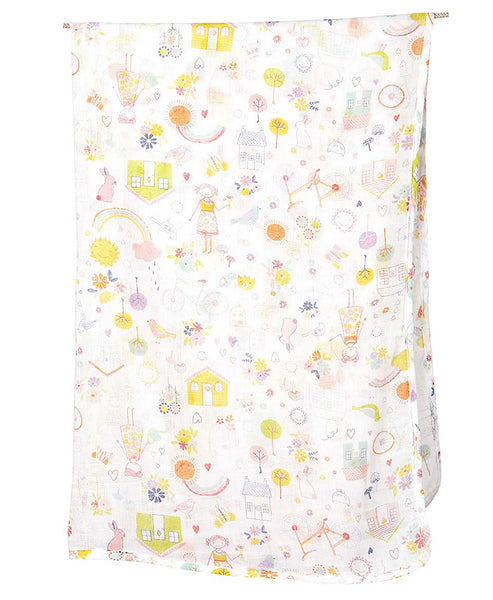 Toshi Muslin Wrap Happy