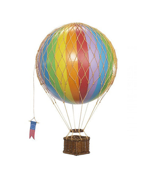 Travels Light Hot Air Balloon - Rainbow Medium