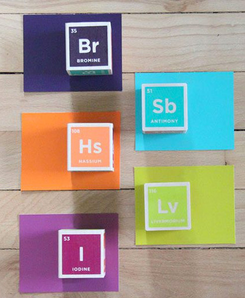 Uncle Goose Discovery Periodic Table Blocks/20