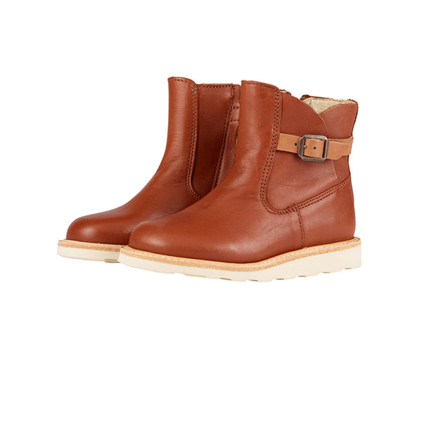 Young Soles Vera Ankle Boot Chestnut Brown