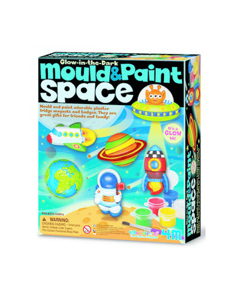 Mould & Paint Space - Glow in the Dark