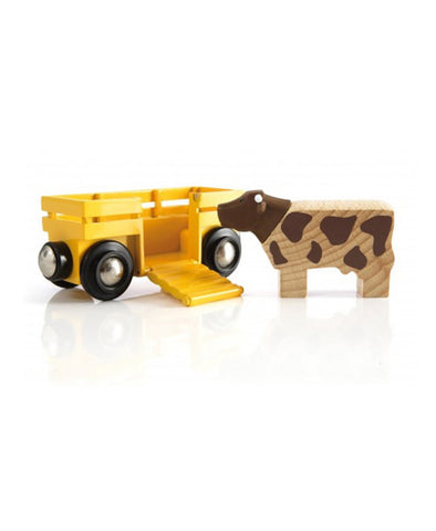 Brio Cow and Trailer