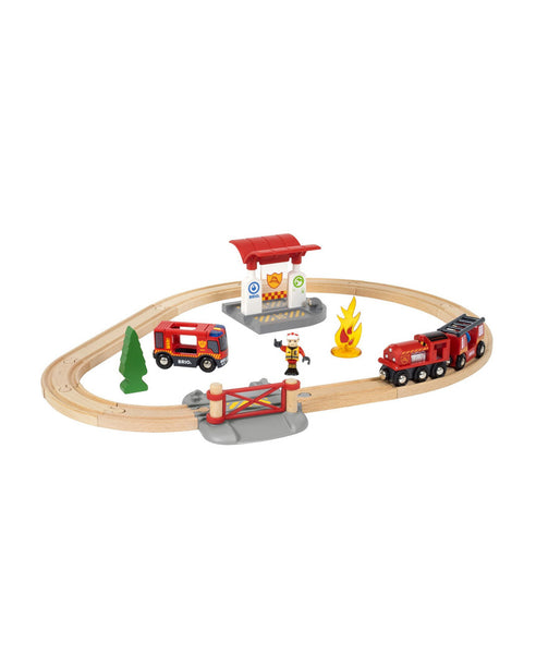 Brio Fire Rescue Set