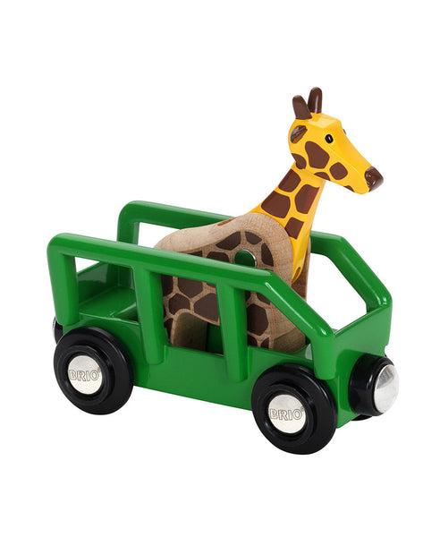 Brio Safari Wagon and Animal