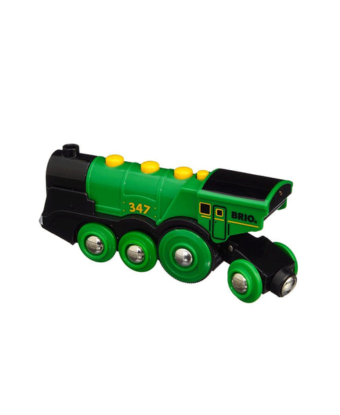 Brio Big Green Action Locomotive