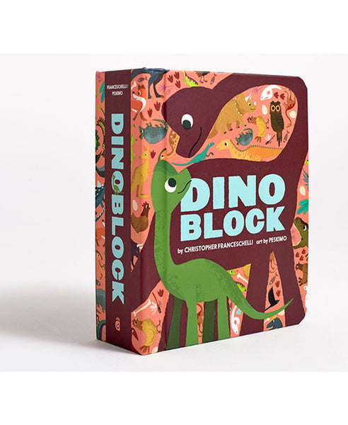 Dinoblock Book by Christopher Franceschelli