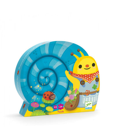 Djeco Snail Silhouette Puzzle