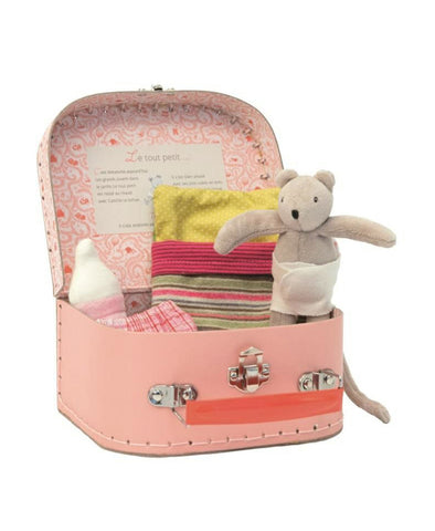 Moulin Roty Mouse in Suitcase