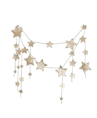 No. 74 Stars Garland - Gold