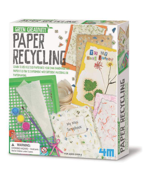 Green Creativity - Paper Recycling