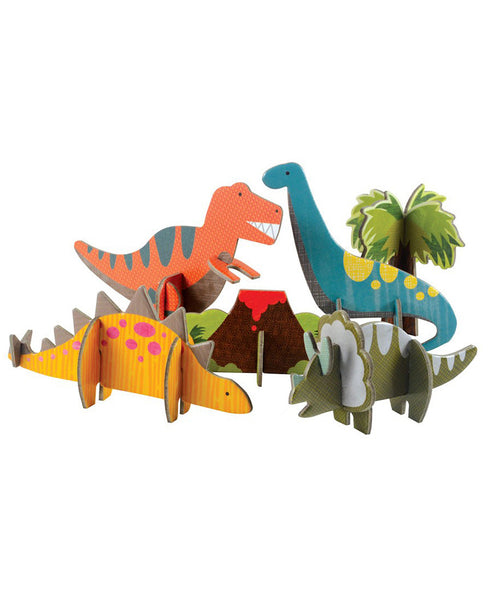 Petit Collage Pop Out And Play Dinosaurs