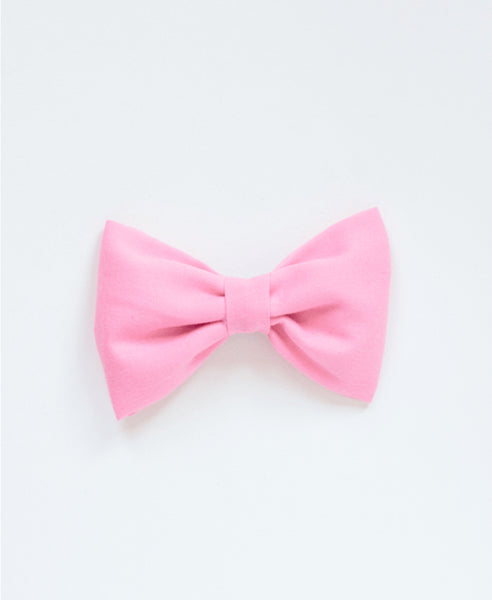 Pretty Wild Single Bow Clip-Pink