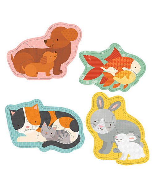 Petit Collage Beginner Puzzle - Pets