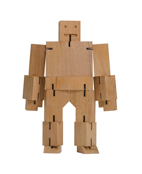 Cubebot Robot Extra Large - Natural