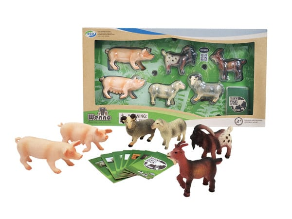 Wenno Europe Farm Animal Pack