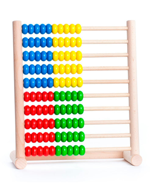 Bajo Wooden Abacus - 100 beads