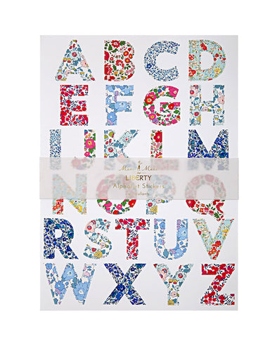 Meri Meri Betsy Alphabet Stickers (10 Set)