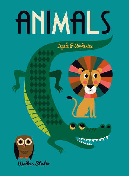 Animals Book by Ingela Arrhenius