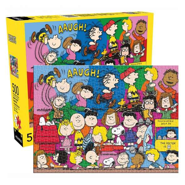 Aquarius Peanuts Cast 500 Piece Jigsaw Puzzle