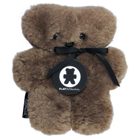 Flatout Bear - Chocolate Large
