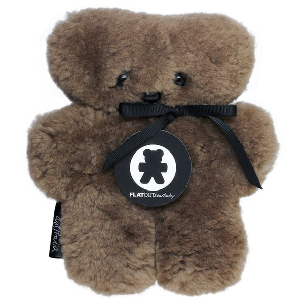 Flatout Bear - Chocolate Small