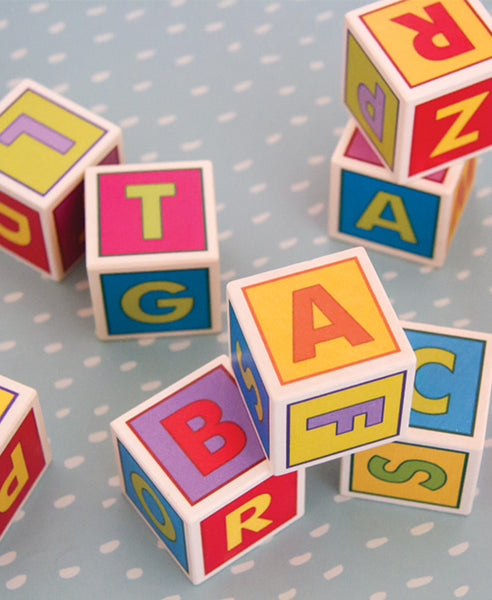 Bajo Alphabet Blocks
